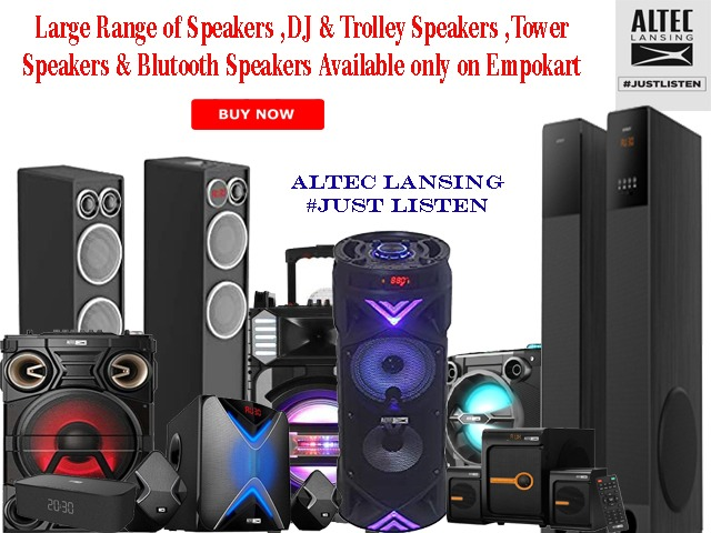 Speakers & Home Theaters
